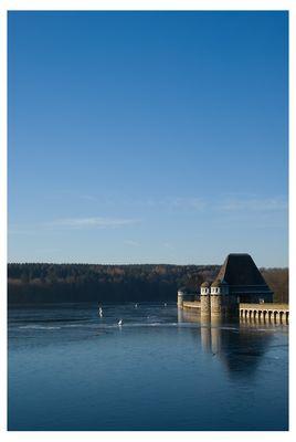 Klare Luft und blauer Himmel...am Möhnesee