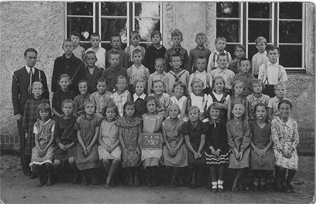 Klassenfoto 1933 Stutthof
