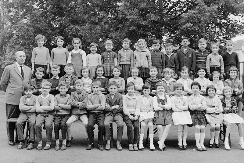 Klassenfoto Volksschule 1959