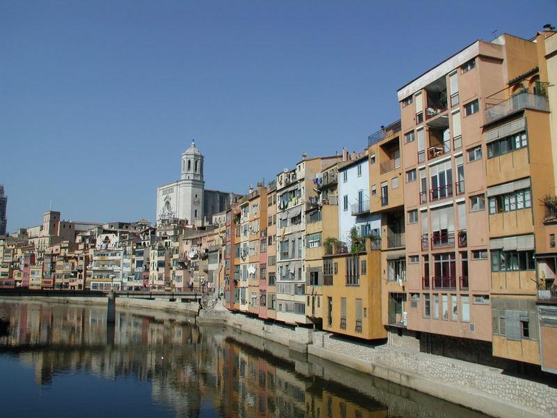 Klassisches Motiv von Girona