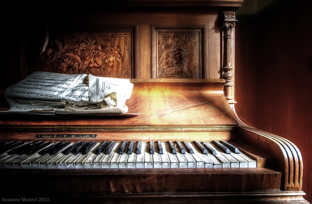 Klavier der Stille