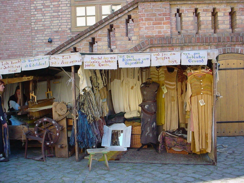 Kleider von der Stange