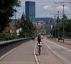 Kleinbasel View from WettStein Brucke