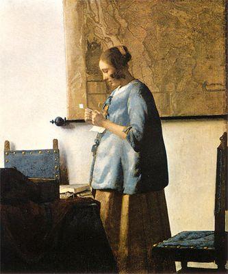 Kleine Analyse eines Bildes von Vermeer nach fc-Kriterien.