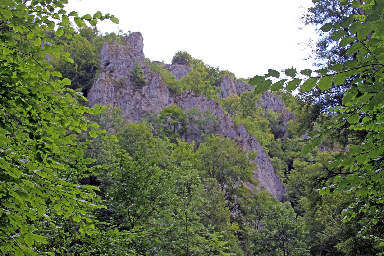 Kleine Berge in Hayingen