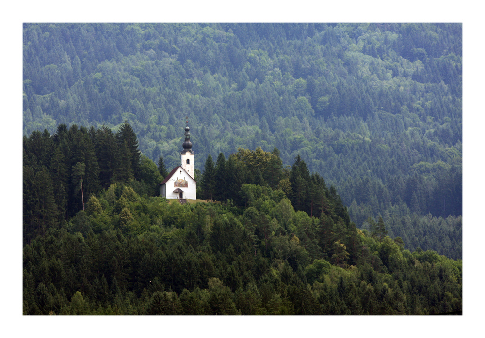 Kleine Bergkirche...