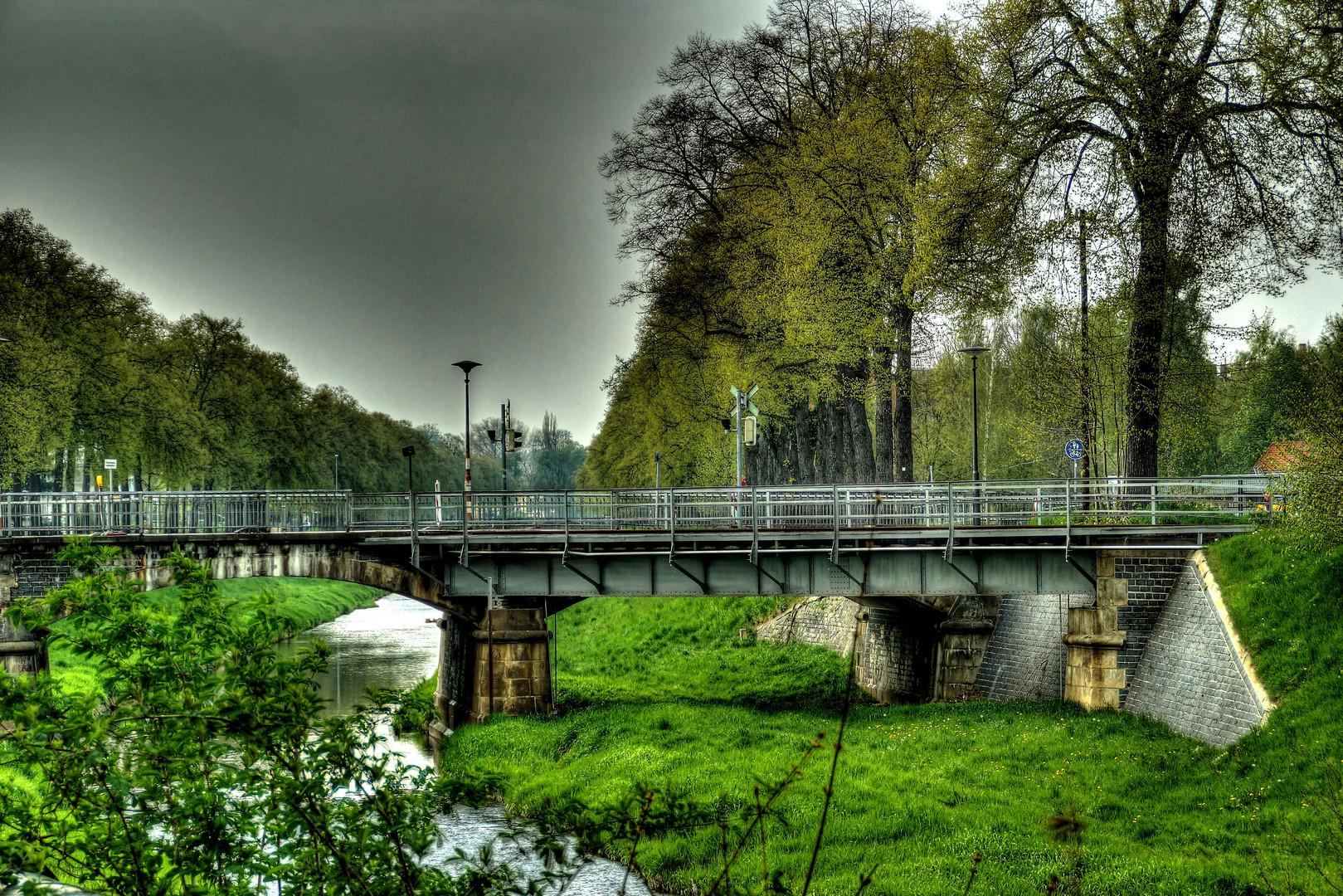 Kleine Brücke in Zittau