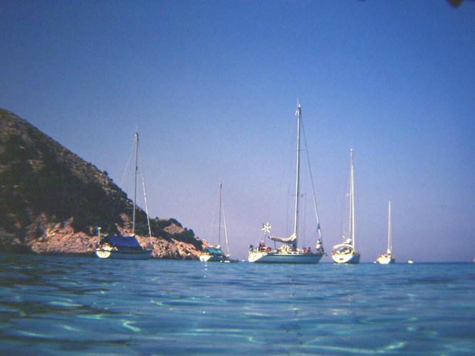 Kleine Bucht hinter Cala Agulla