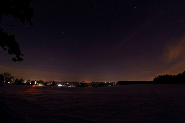 kleine, feine Winternacht
