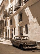 Kleine Gasse in Havanna