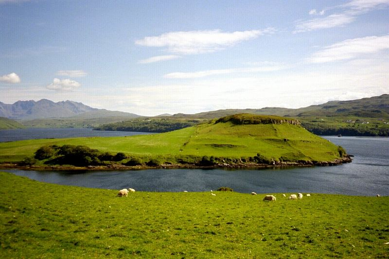 Kleine Halbinsel auf Skye