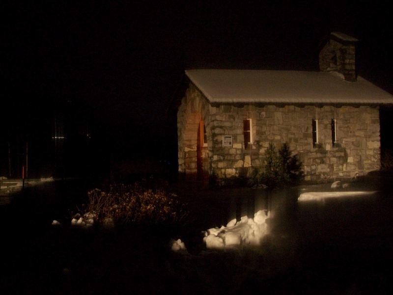 Kleine Kapelle auf dem Sattel, Kt. Schwyz