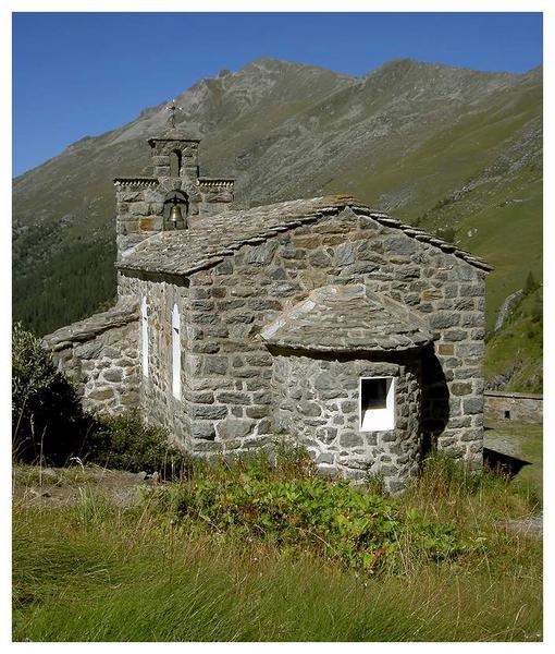 Kleine Kapelle im Wallis
