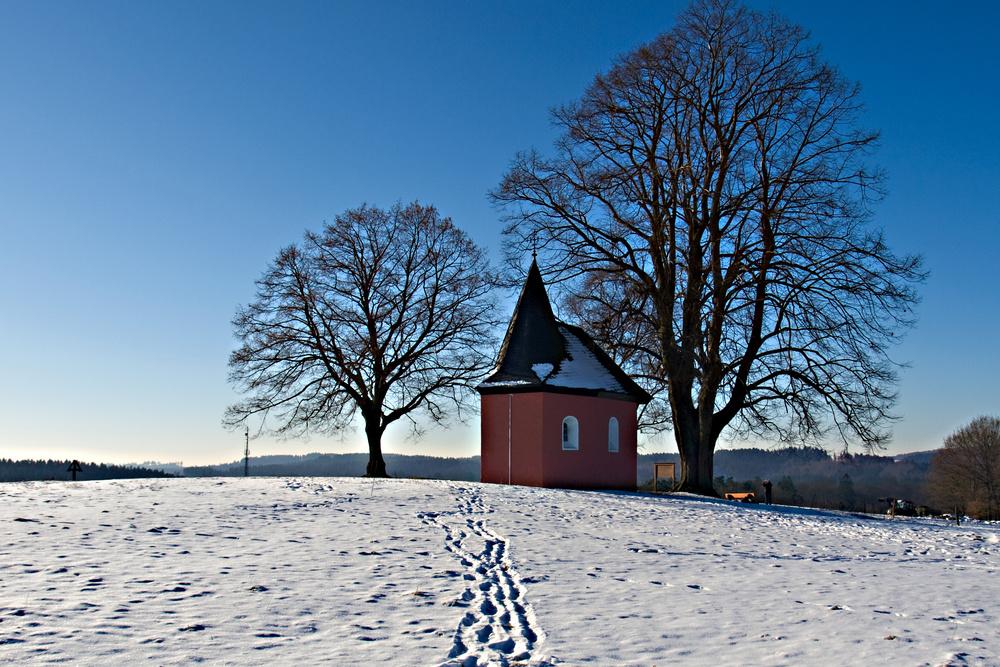 Kleine Kapelle in der Nähe von Friesenhagen
