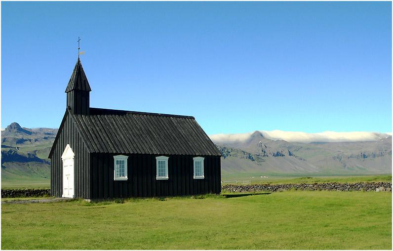 Kleine Kirche in Búðir, Snaefellsnes