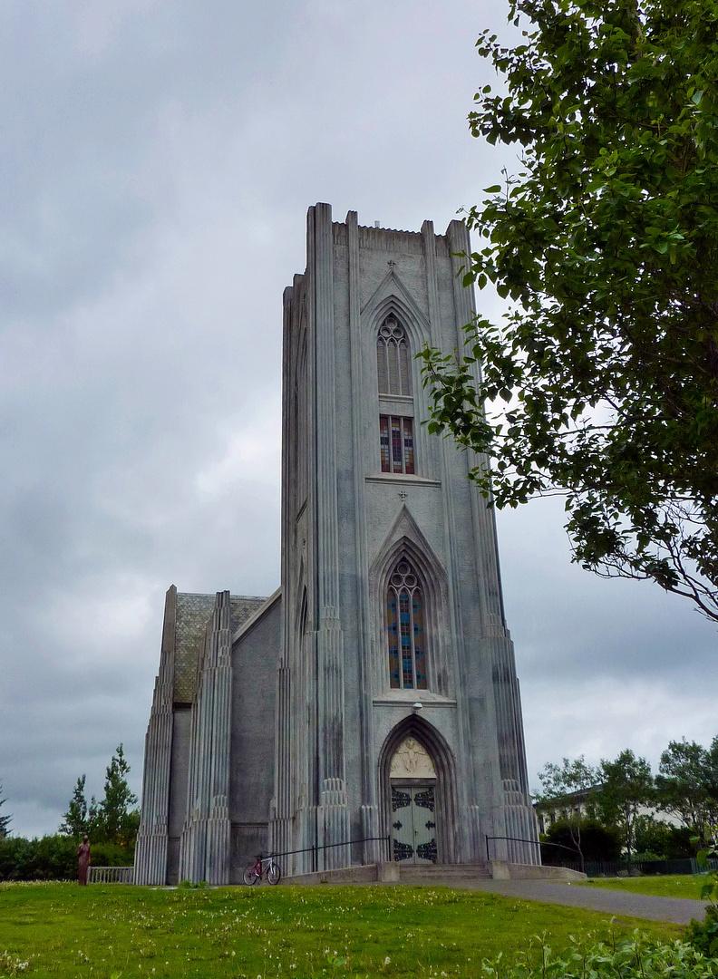 Kleine Kirche in Reykjavik