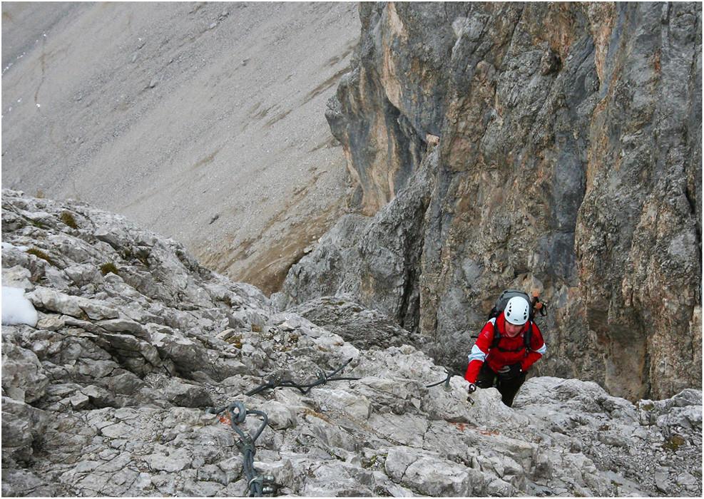 kleine Kletterpartie