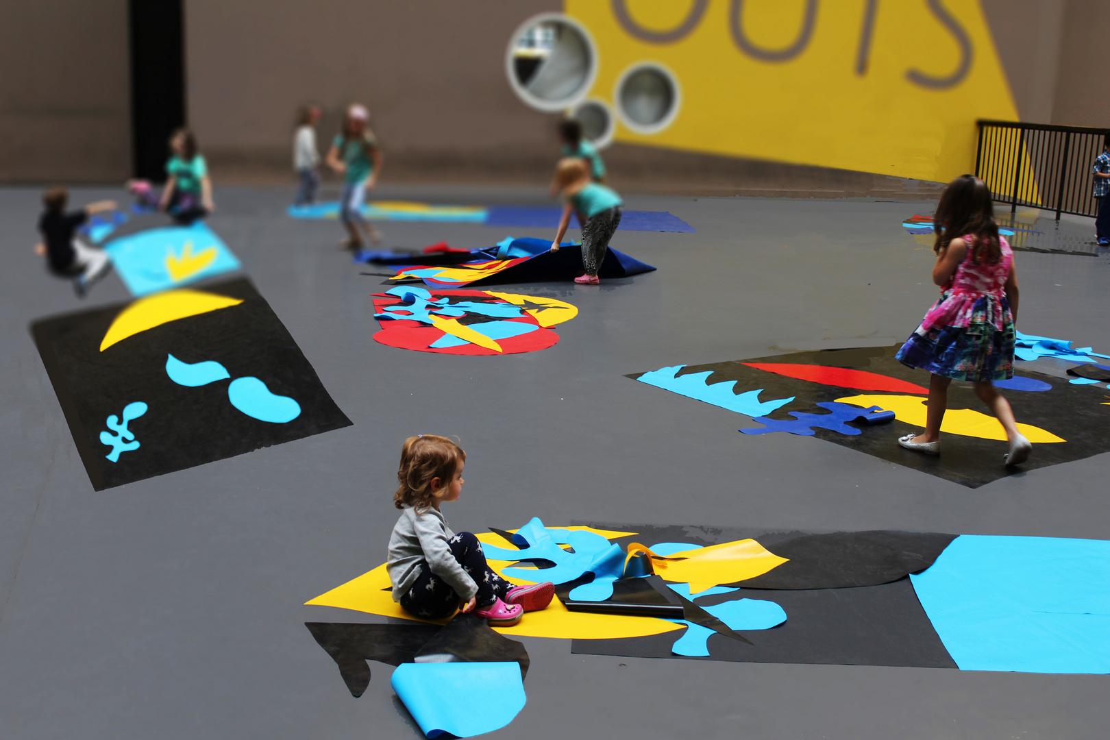 Kleine Künstler - Playing with Matisse