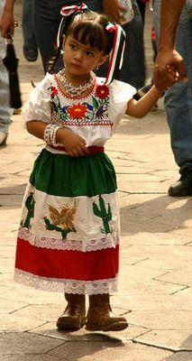 Kleine Mexikanerin