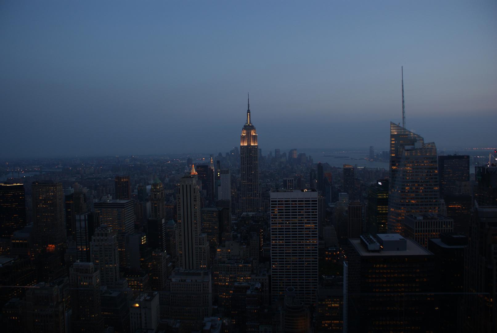 Kleine New York Serie-Teil 4: Standart Programm-Blick über Manhattan