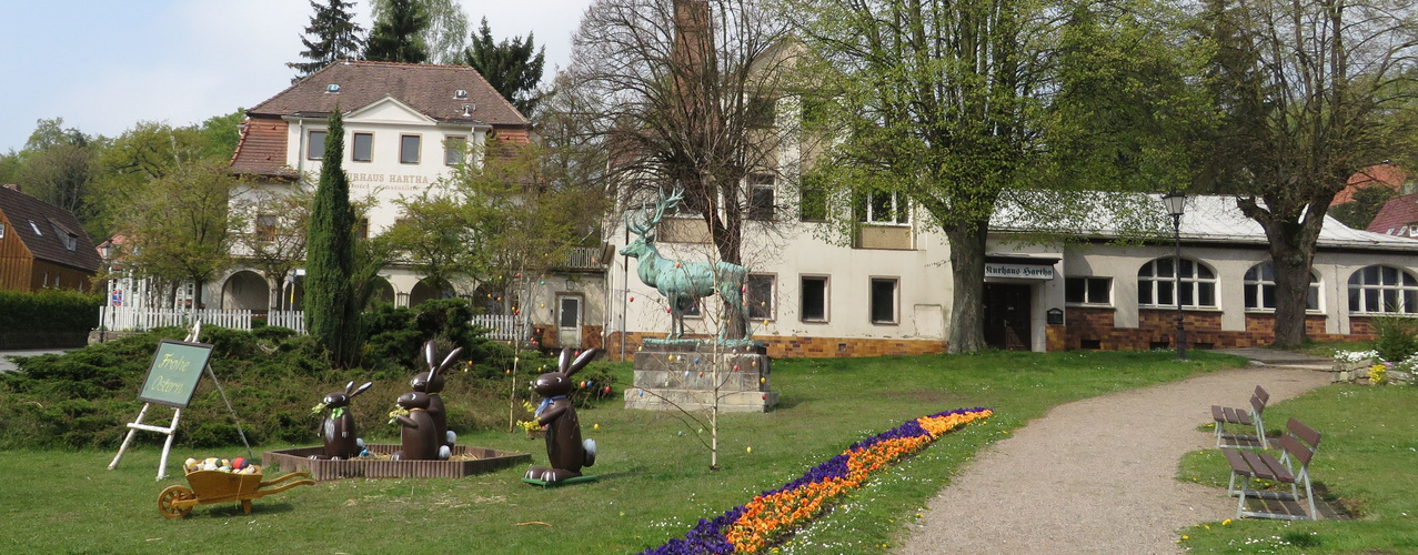 Kleine Parkanlage Kurort Hartha-Sachsen