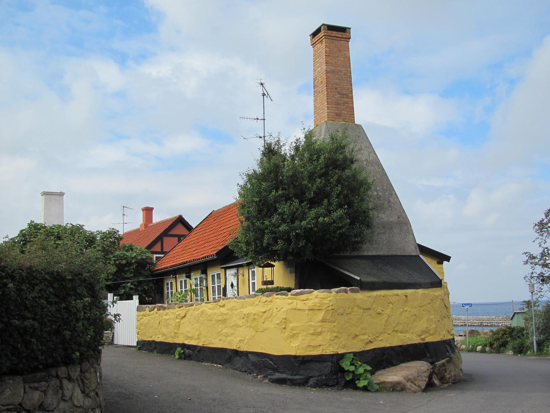 Kleine Räucherei auf Bornholm