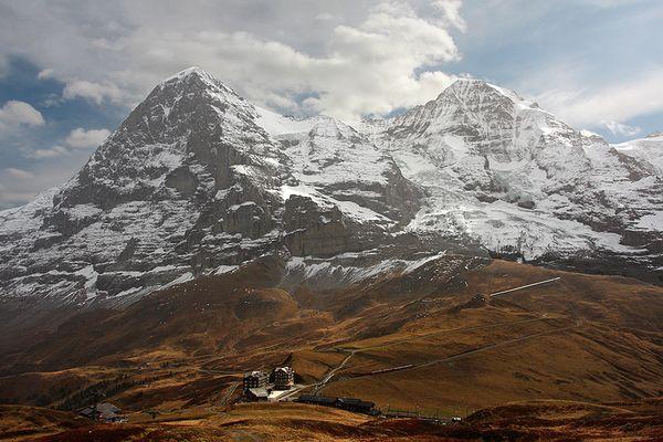 Kleine Scheidegg vor Eiger Nordwand