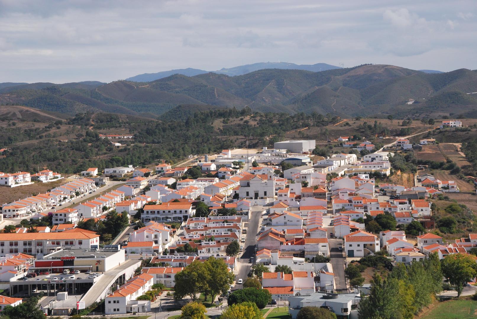 kleine Stadt an der Algarve / Portugal