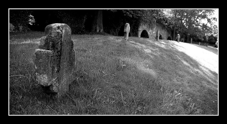 Kleine Stadt... kleiner Friedhof...