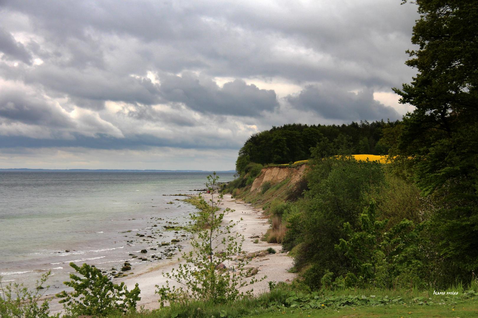 kleine Steilküste bei Grömitz