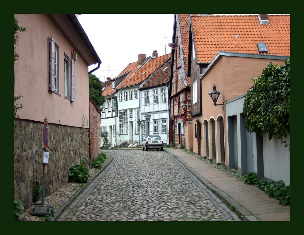 Kleine Straße in Lüneburg 2