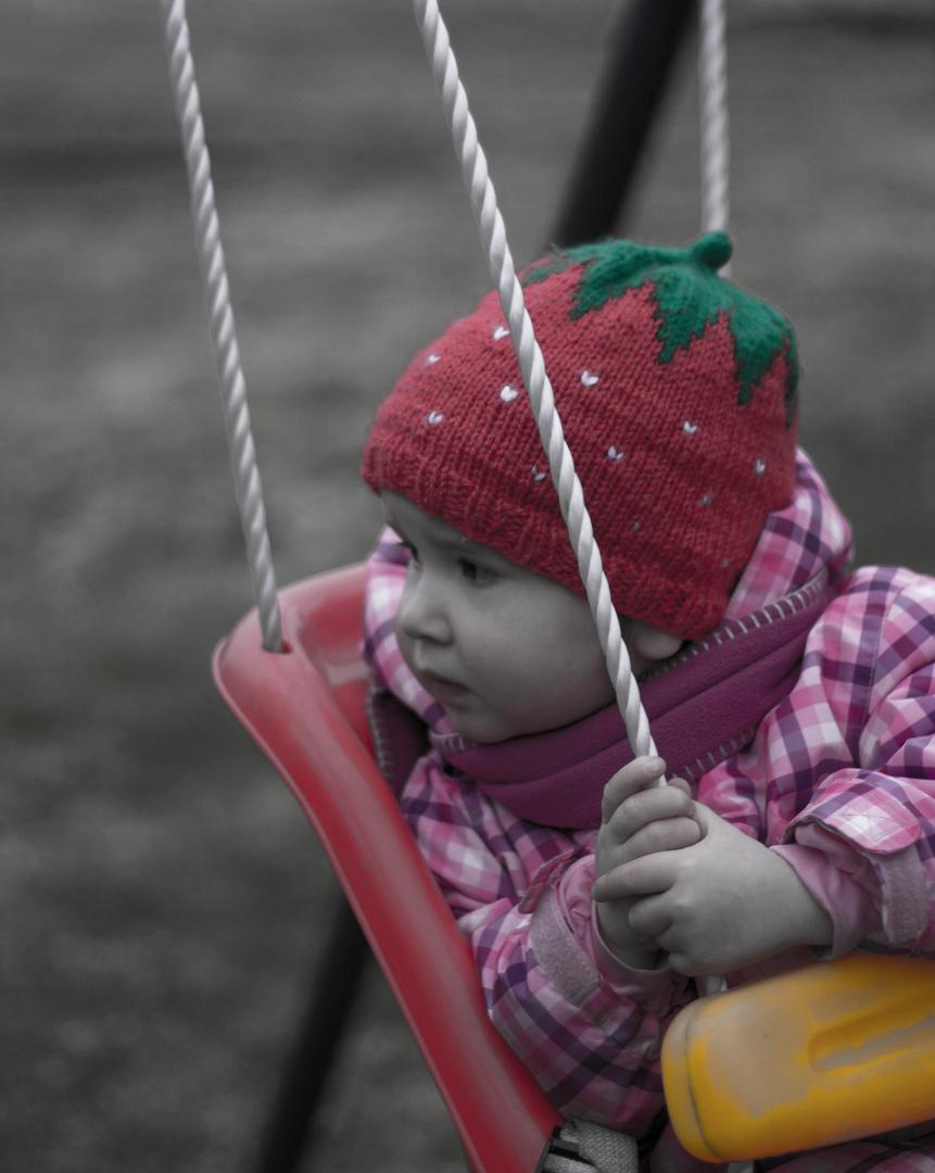 Kleine Träumerin
