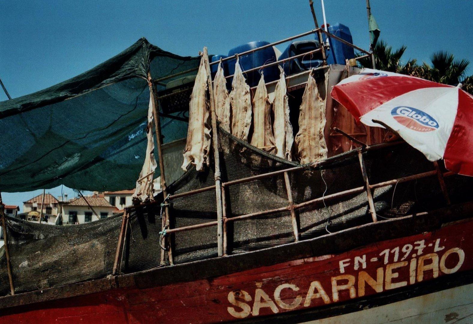 Kleine und alte Boote haben noch ihre Aufgabe.