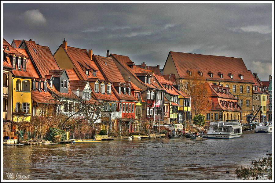 """""""kleine Venedig"""" in Bamberg in HDRI"""