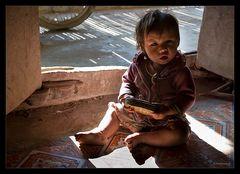 kleine Vietnamesin
