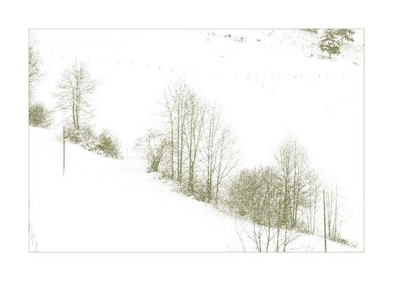 Kleine winterlanschaft