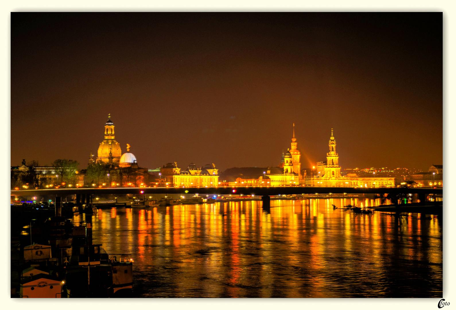 Kleine Wochenendreise in das schöne Dresden.