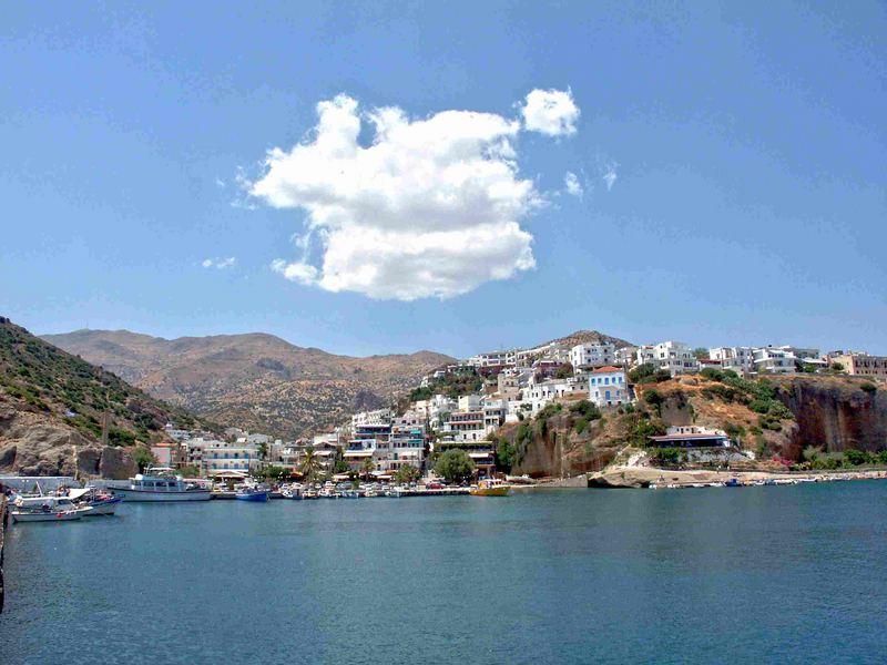 Kleine Wolke über Kreta