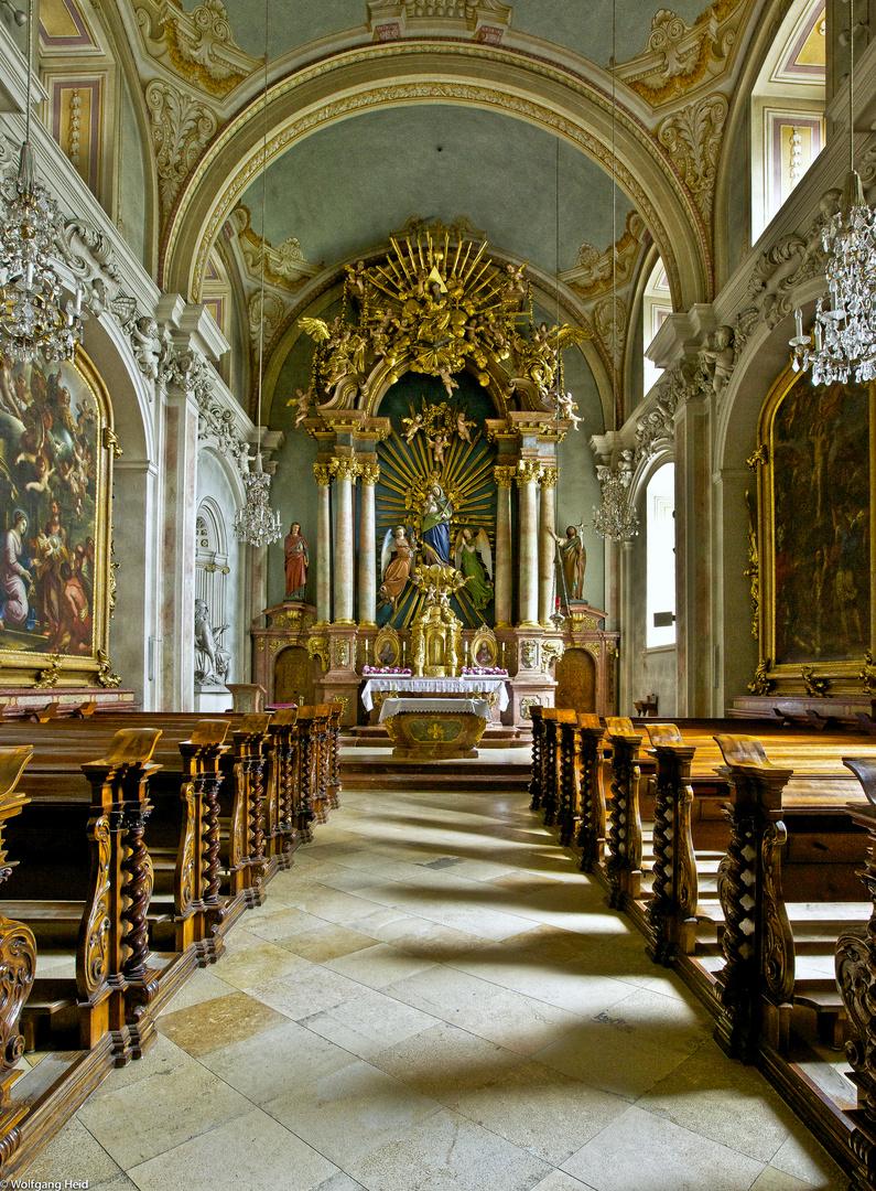 Kleiner Altar im Stift St. Florian