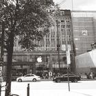 kleiner Ausschnitt aus Hamburg in schwarz-weiß...