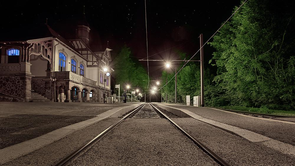 kleiner Bahnhof