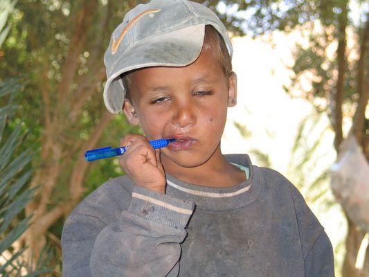 Kleiner Beduine aus Ain Chudra