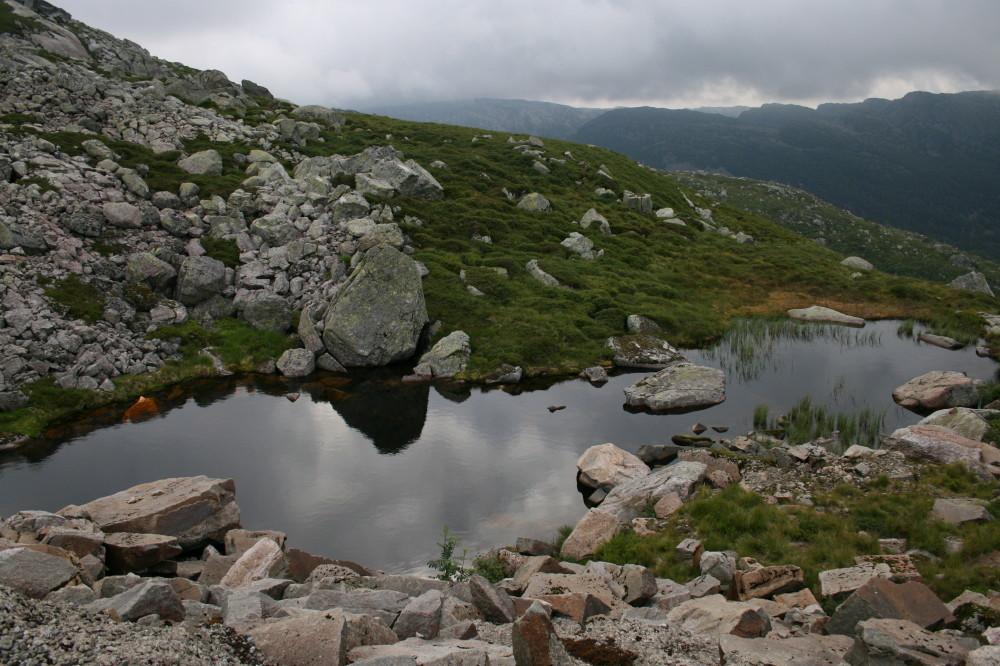 Kleiner Bergsee