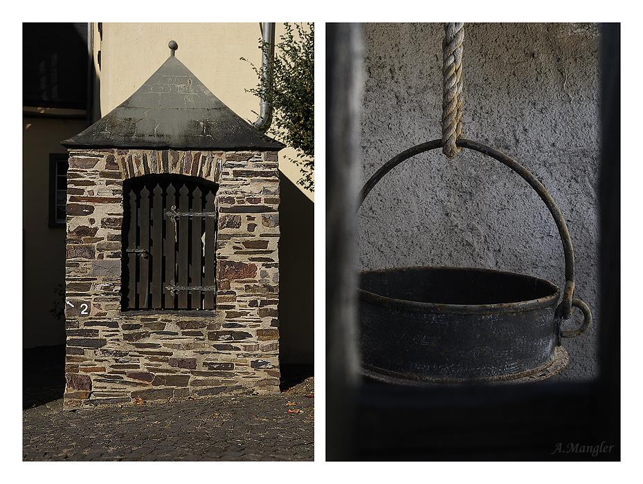 Kleiner Brunnen in Bruttig-Fankel