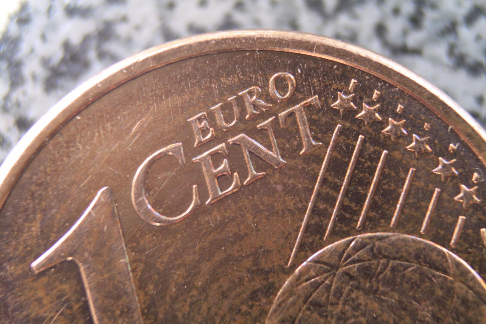 Kleiner Cent, ganz groß