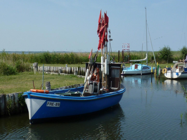 Kleiner Hafen Loddin am Achterwasser #1
