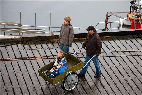 Kleiner Isländertransport