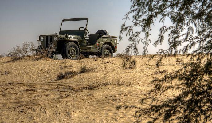 --- Kleiner Jeep, ganz groß I ---