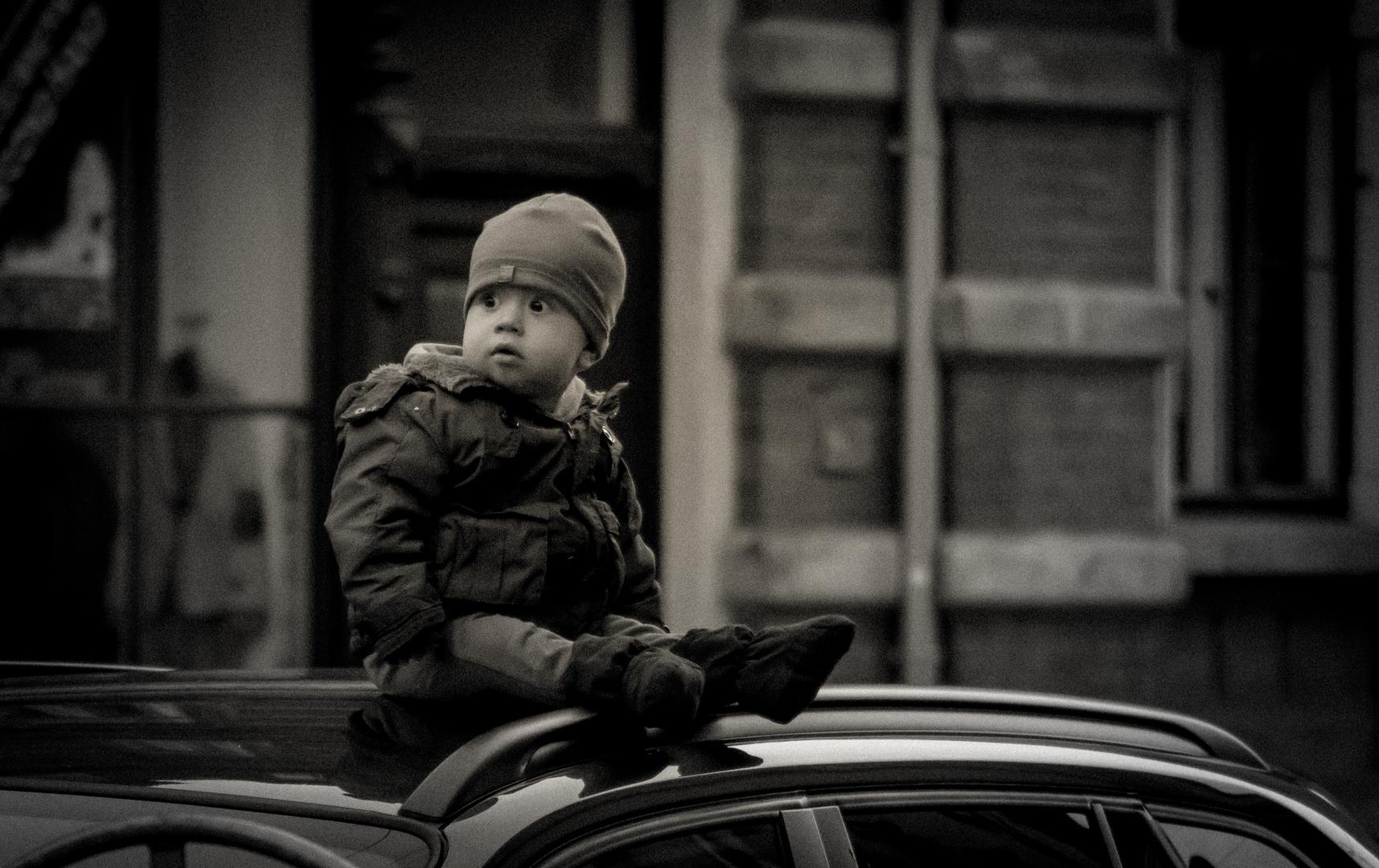 kleiner Junge