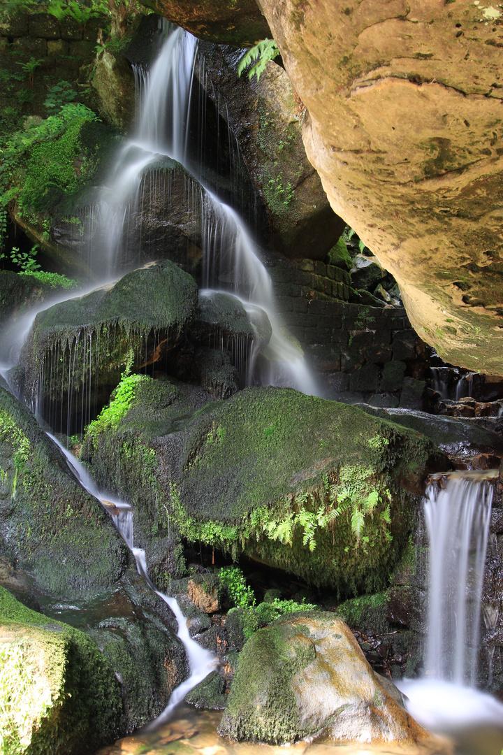 """""""Kleiner"""" Lichtenhainer Wasserfall"""